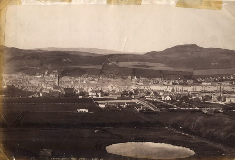 Campbeltown seen from the South