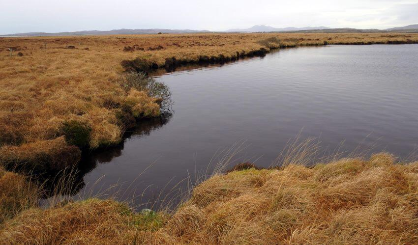 Grunnd Loch, the water source for the Gartbreck distillery
