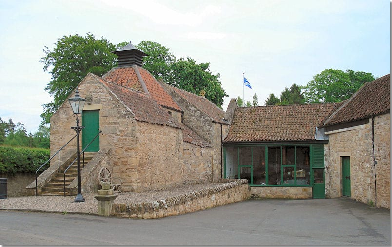 The Daftmill distillery