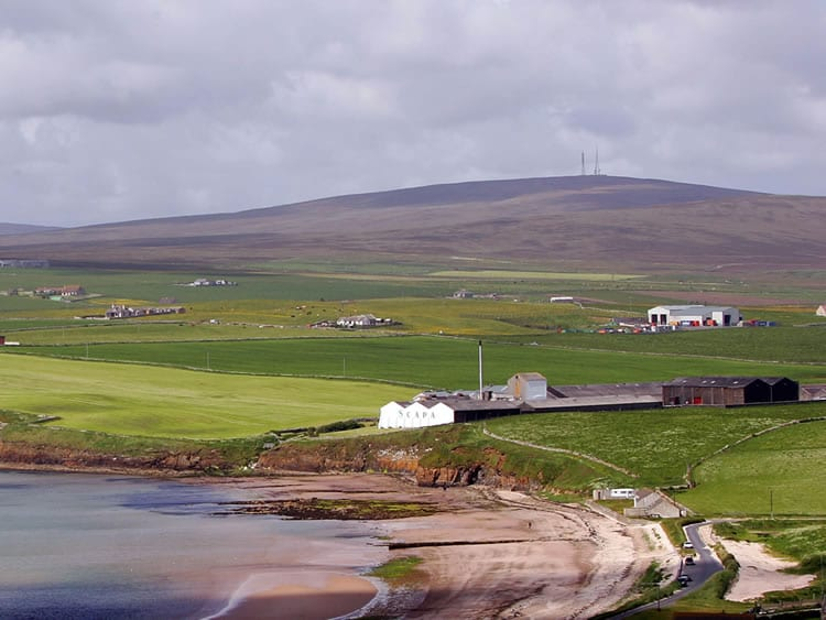 The Scapa Distillery on the Island of Orkney