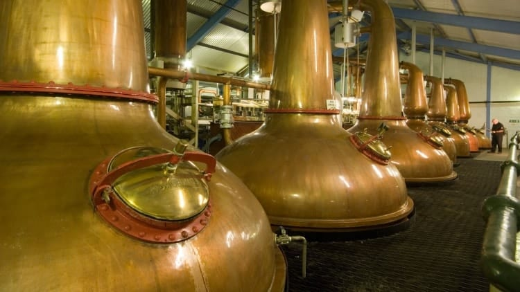 The stills at Laphroaig