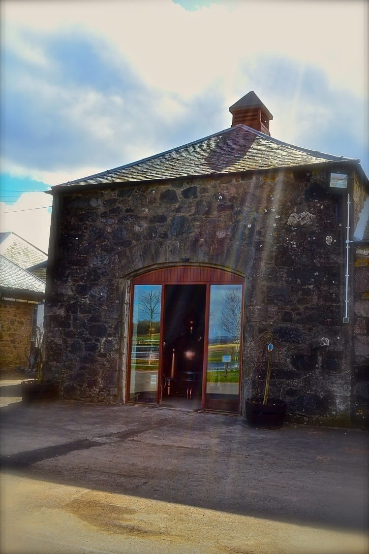 The Strathearn distillery in the Scottish Highlands
