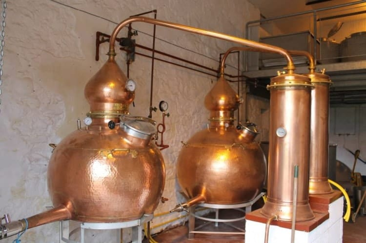 The Hoga stills at Strathearn.