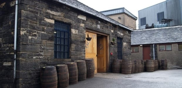 The Old Pulteney distillery in the Highland town of Wick