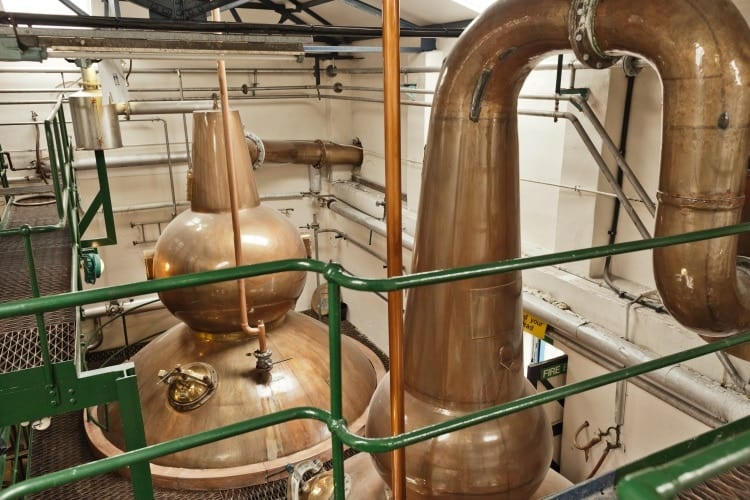 The special stills at Old Pulteney
