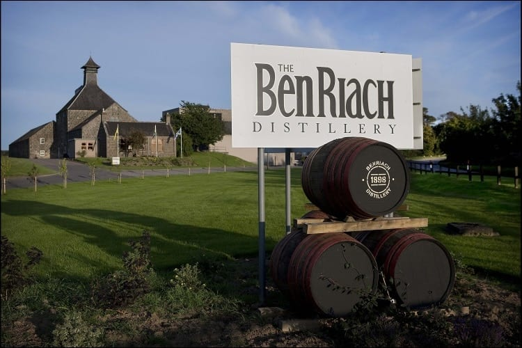 The BenRiach distillery