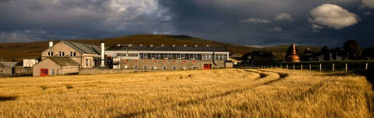 The GlenFarclas Distillery in Ballindalloch , Speyside
