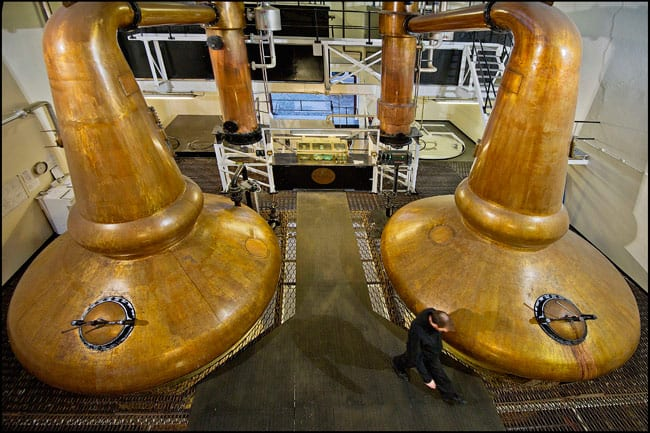The stills at Glenglassaugh