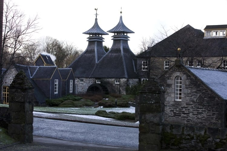 The Strathisla Distillery in the Speyside
